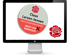 Case on election badges for the Social Democrats of Denmark