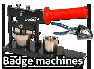 Badges and badge machines - Badgeland
