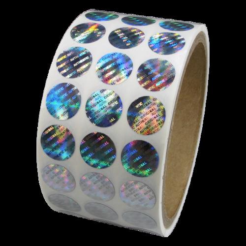 Hologram klistermærker